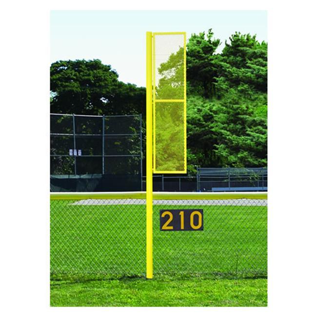 JAYPRO Sports BBSBFP-12 12 ft. Baseball-Softball Foul Pole