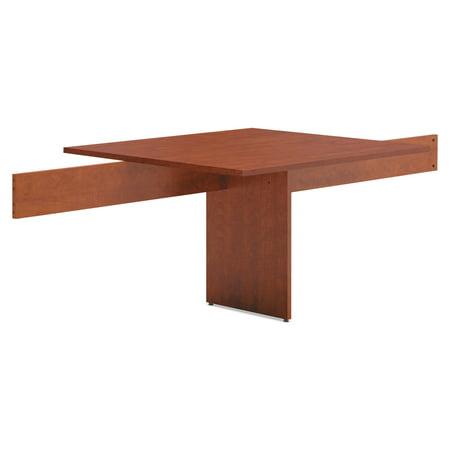 BL Laminate Series Rectangle Conference Table w/Slab Base,44x47.5, Medium Cherry