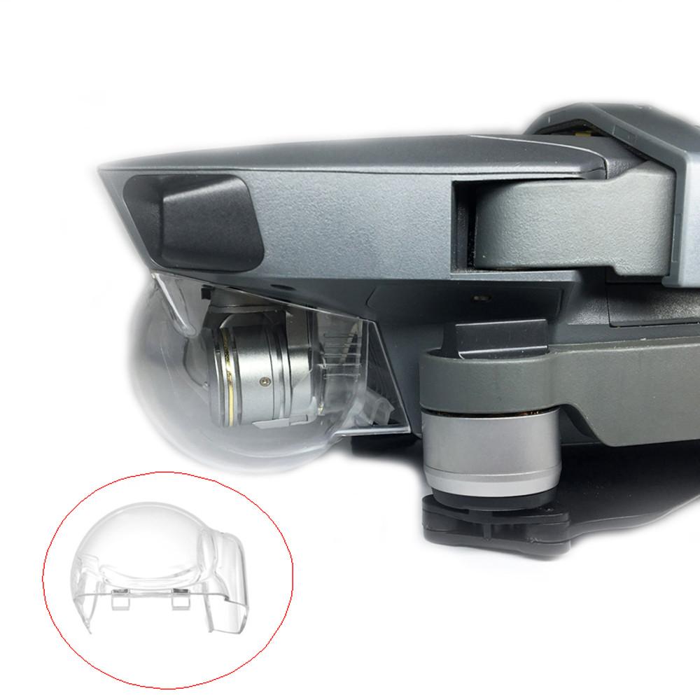 Hight Quality Lens Hood HD Gimbal Camera Protector Transparent Cap Cover for DJI MAVIC PRO