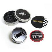 GoBadges Magnetic Grill Badge Holder Starter Kit - A Jet