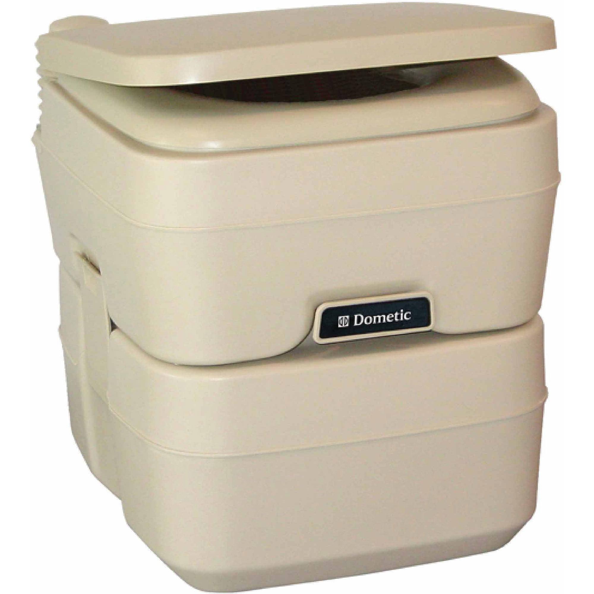 SeaLand 5.0 Gallon SaniPottie 965 Portable Toilet with Mounting Brackets