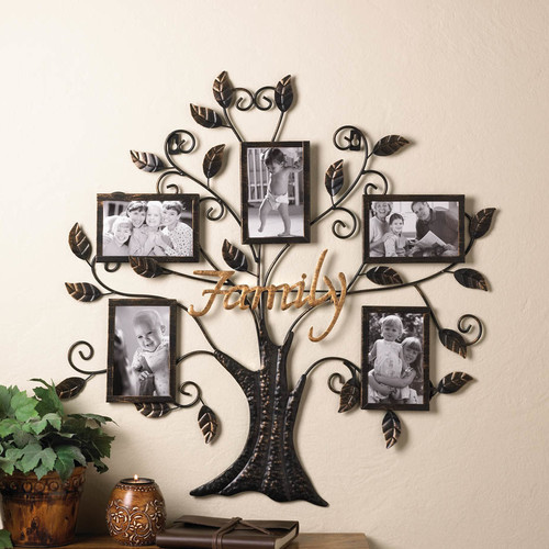 Zingz Thingz Family Tree Picture Frame Walmartcom