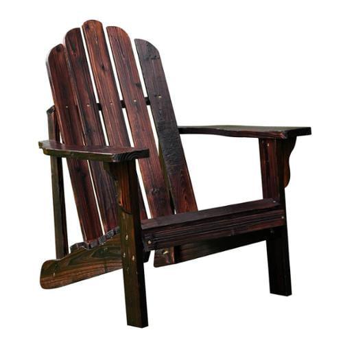 Marina Adirondack Chair Burnt Brown by Shine Company