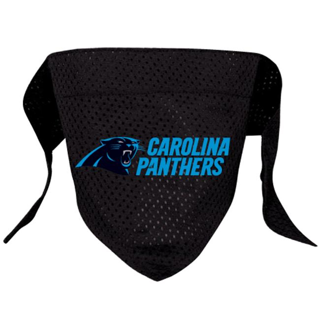 DoggieNation Carolina Panthers Dog Bandana