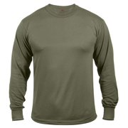 7ade6a11 Rothco Moisture Wicking Long Sleeve T-Shirt - Olive Drab, Small