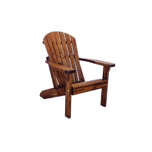 Charmant Loon Peak Poyner Patio Solid Wood Adirondack Chair