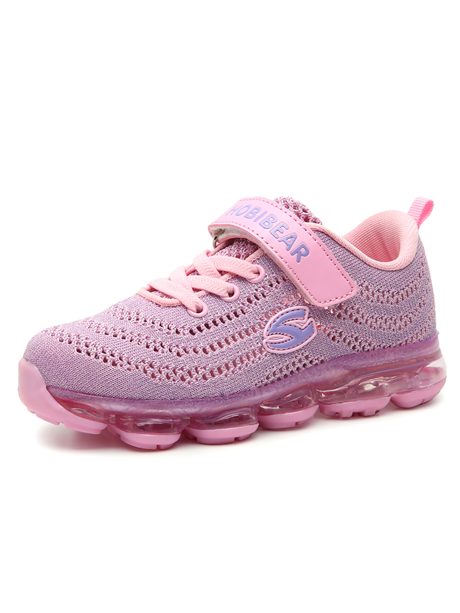Big Kid's Running Shoes Air Cushion Shock Absorption Breathable Anti-Skid Sneakers Unisex