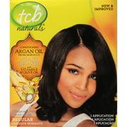 TCB Naturals Regular Conditioning No-Lye Hair Relaxer Box