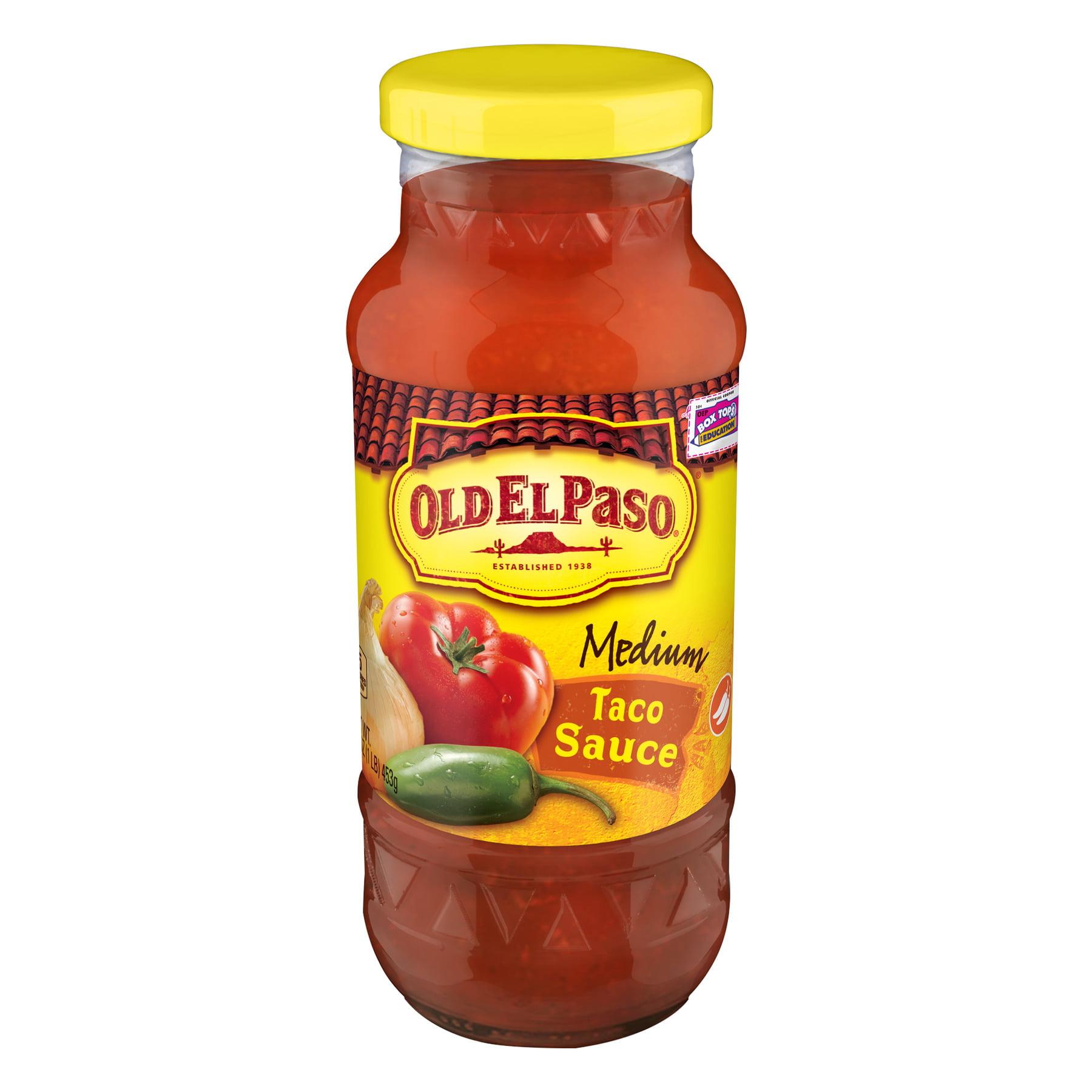 (2 Pack) Old El Paso Medium Taco Sauce, 16 oz