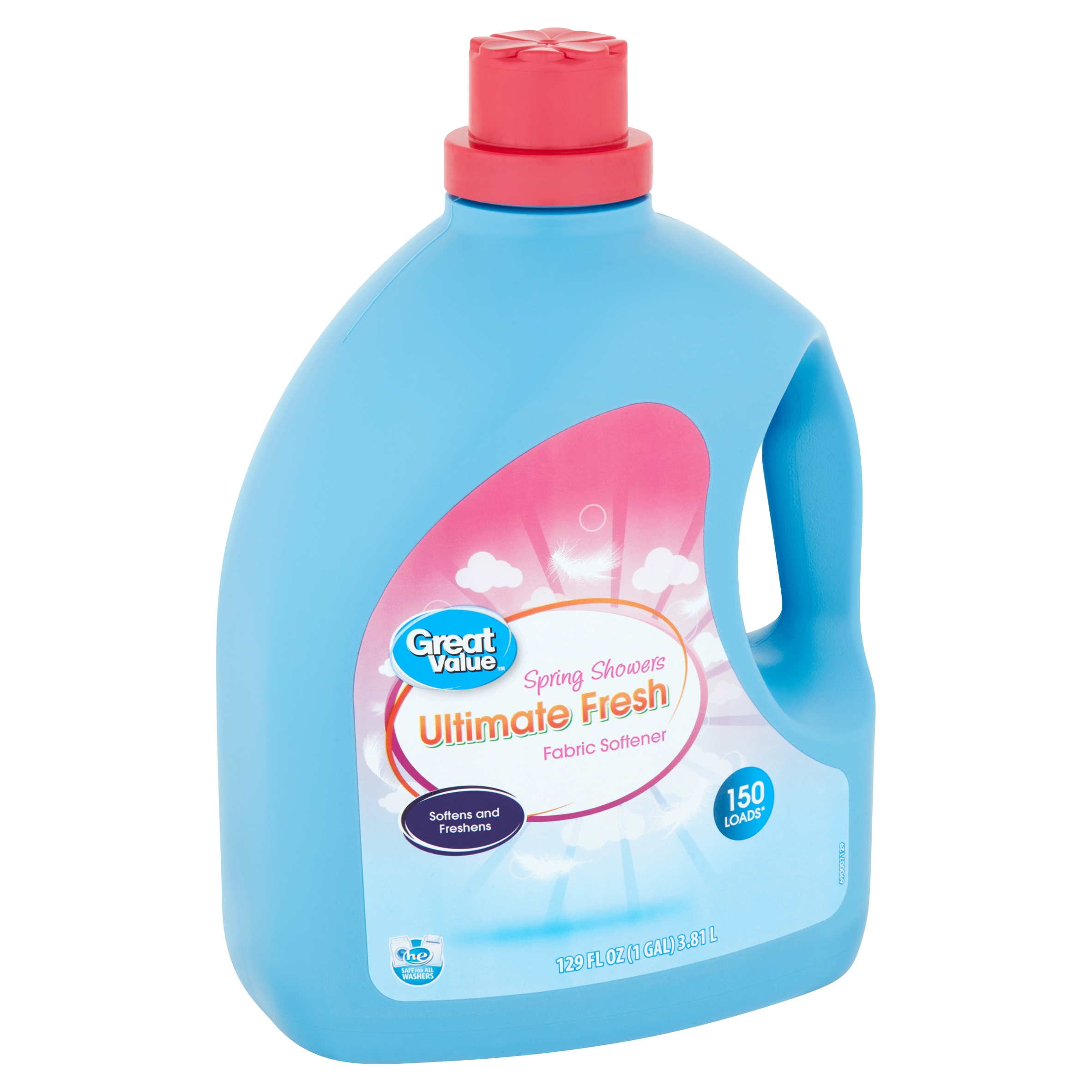 Great Value Ultimate Fresh Spring Showers Fabric Softener