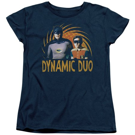 Dynamic Sleeve - Batman Classic Tv - Dynamic - Women's Short Sleeve Shirt - Small