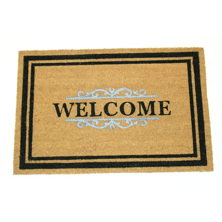 Gated Welcome 30x48 Inch Printed Coir -
