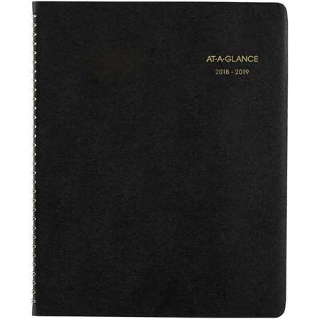"18 Months; July 2018-December 2019 - AT-A-GLANCE Large Academic Monthly Planner 8.875""X11"""