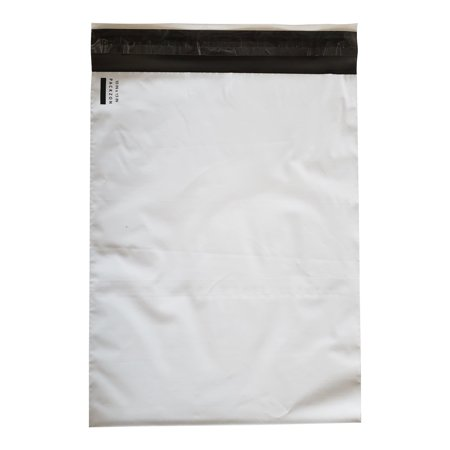 10x13 Poly Mailers Envelopes with Self Sealing Shipping Bags White 2.0 MIL Pack of