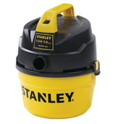 Stanley, 8100101A, 1.5 Peak HP 1 Gallon Portable Poly Wet Dry Vac with Wall-Mount Bracket