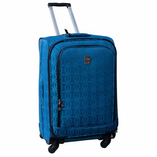 "Jenni Chan Links 360 Quattro 25"" Luggage, Blue"