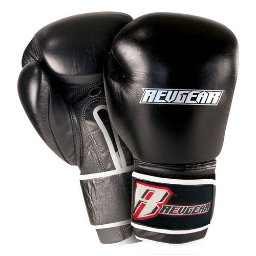 Revgear 10600 18 - OZ Revgear Platinum Leather Boxing Glove