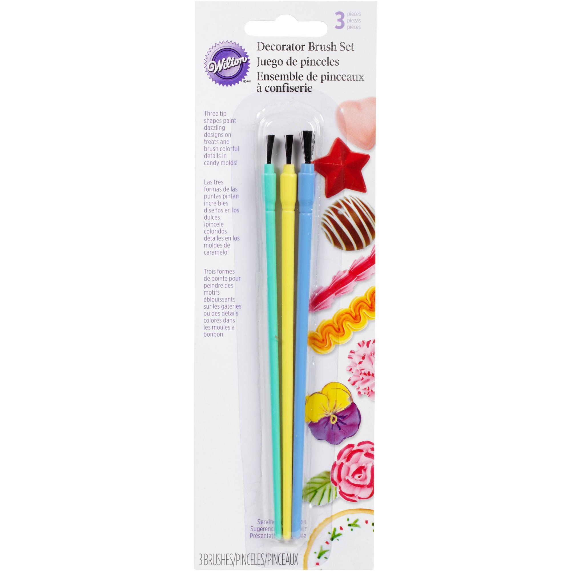 Wilton Decorating Tools Decorator Brush Set, 3 ct. 2104-9355