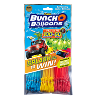 Bunch O Balloons Splash to Win Promotion with 100 Rapid-Filling Self-Sealing Water Balloons (3 Pack) by ZURU