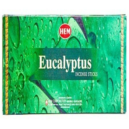 Eucalyptus - Box of Six 20 Stick Tubes - HEM -