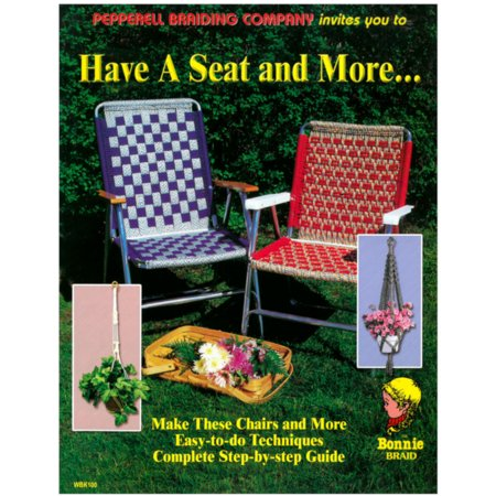 Hang it Up & Have a Seat DIY Crafting Weaving Knotting Macrame Books - 1 and 2 Packs (Diy Halloween Arts And Crafts)