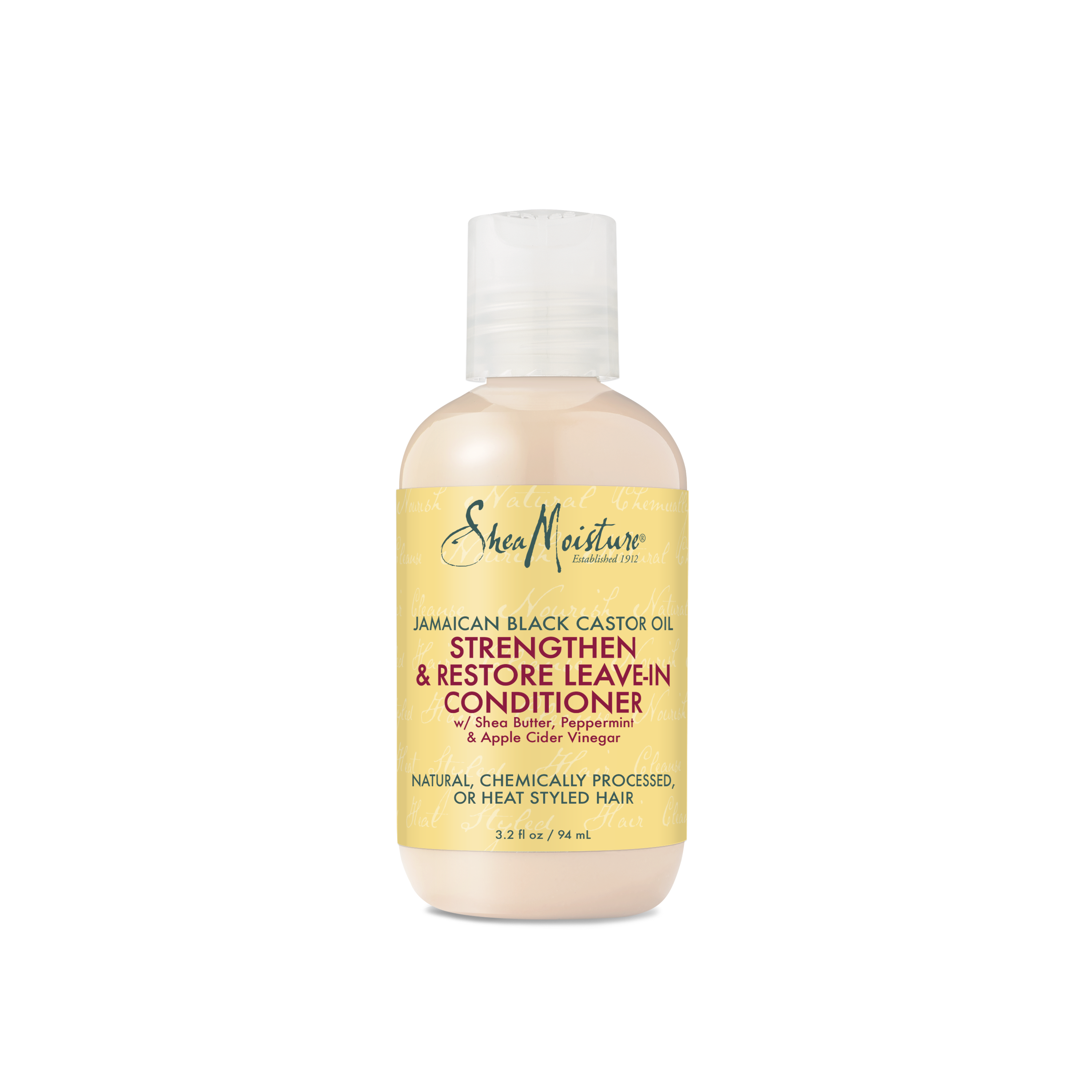Shea Moisture Jamaican Black Castor Oil Strengthen & Restore Leave-In Conditioner, Travel