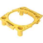 Rubbermaid Commercial Brute Rim Caddy, Yellow