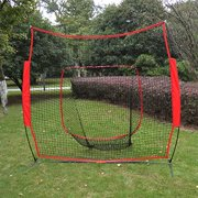 Baseball Net Cages Sport Play Indoor Outdoor Elevated Portable Soft Toss