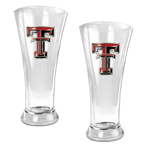 NCAA - Texas Tech Red Raiders 2pc. 19oz. Pilsner Glass Set