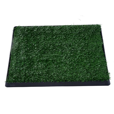 "PawHut 25"" x 19"" Grass Pad Dog Potty"