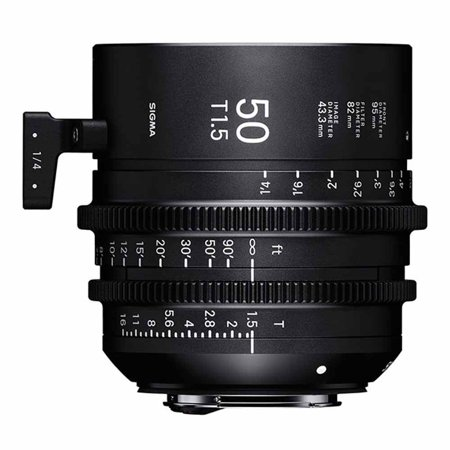 Sigma 50mm T1.5 Cine High-Speed Prime Lens (Canon