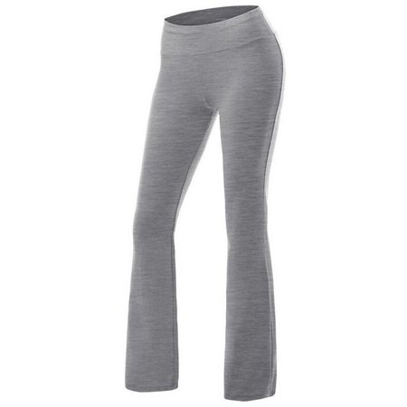 c5ceabbc21073 Fitibest Women Bootcut Yoga Pants Stretchy Bootleg Pants High Waist Sports  Trousers, Ideal for Yoga, Pilates, Running and Dancing, Gray, S -  Walmart.com