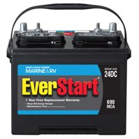 EverStart Lead Acid Marine & RV Battery, Group Size 24DC