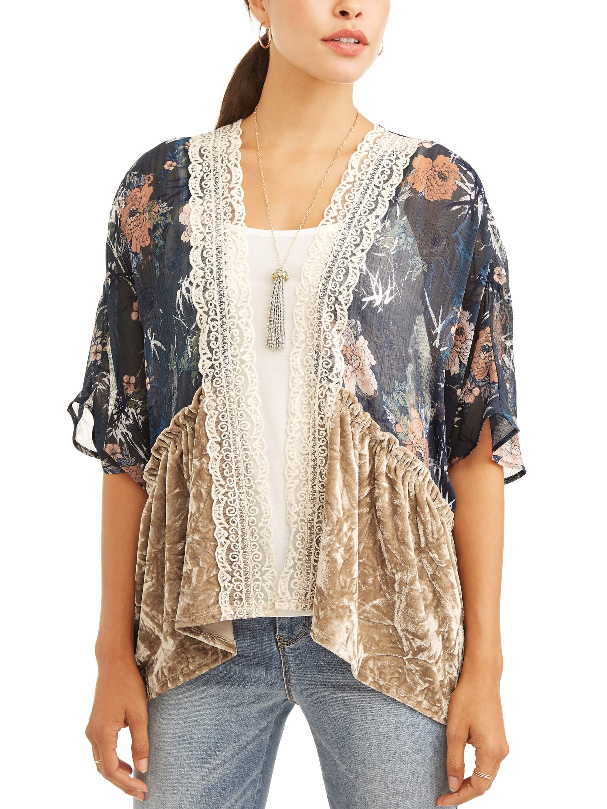 Women's Kimono 3fer Tank and Necklace by ALL ACCESS APPAREL- 4_30