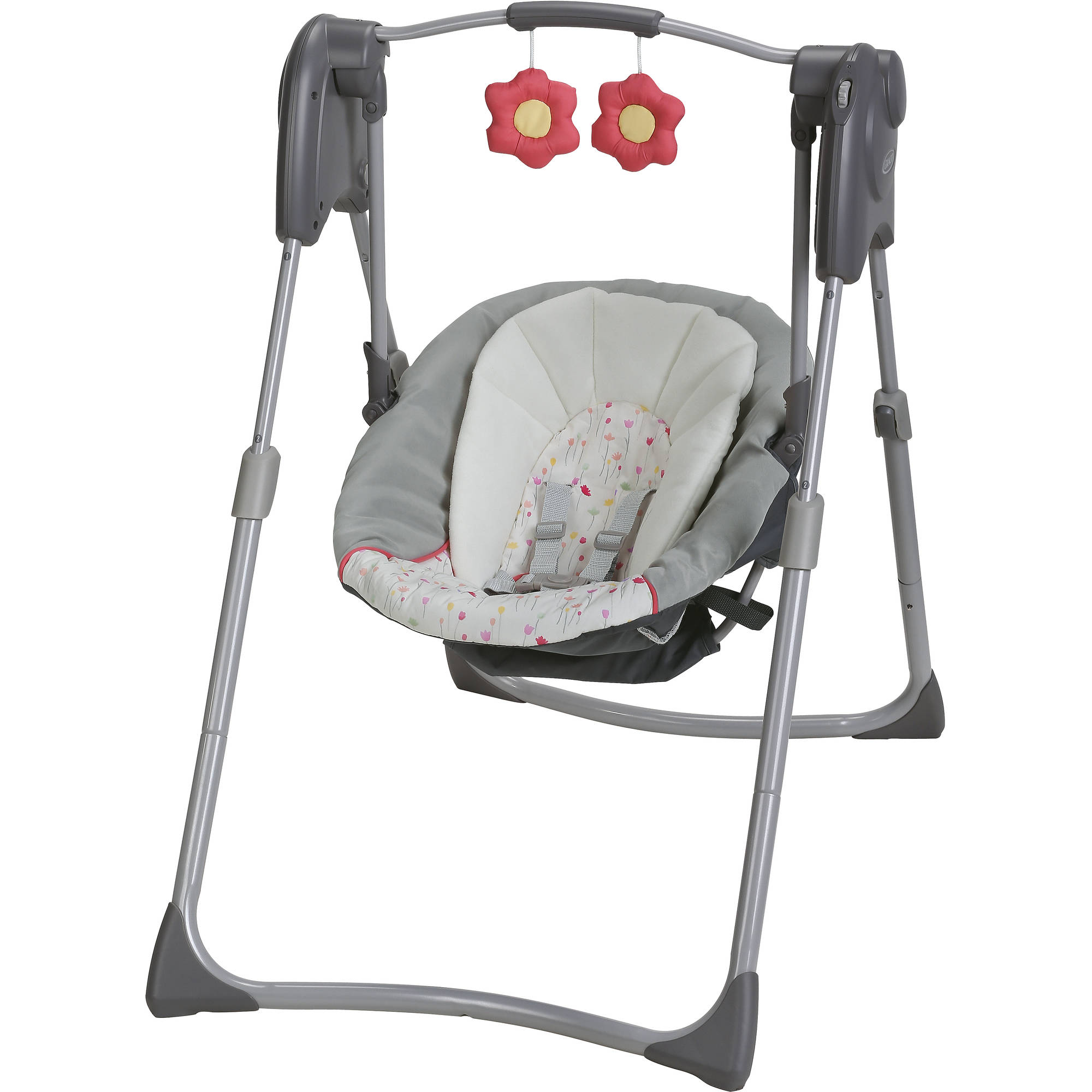 Graco Slim Spaces Compact Baby Swing, Alma