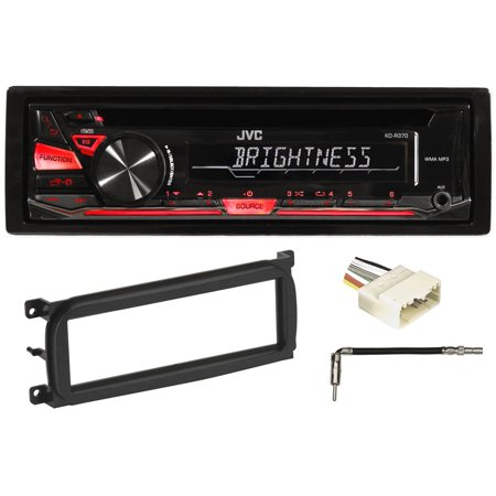 Jeep Wrangler Radio (JVC Stereo/Receiver/Radio/CD Player Factory Replacement For 03-06 JEEP)