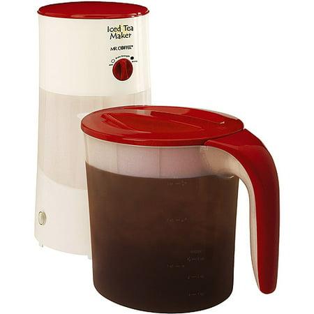 Mr Coffee Iced Tea Maker Red Tm70ar Walmart Com