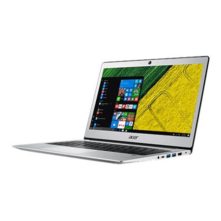 Acer Swift 1, 14u0022 Full HD Notebook, Intel Pentium Silver N5000, 4GB, 64GB SSD, Windows 10 Home in S mode, Office 365 Personal 1-Year, SF114-32-P2PK
