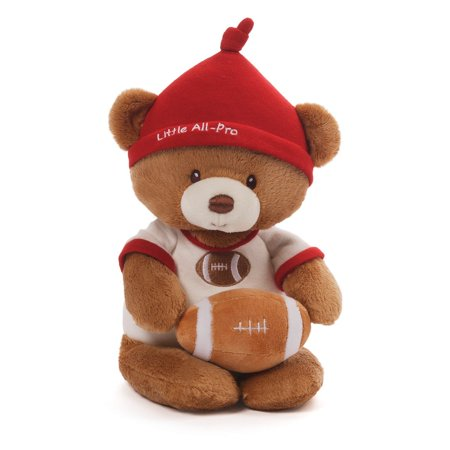 Teddy Rattle - Gund Football Bear and Rattle