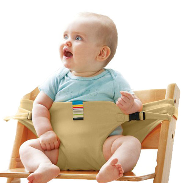 LANBOWO Portable Baby Chair Infant Seat Product Dining Lunch Chair Seat Safety Belt Feeding High Harness New