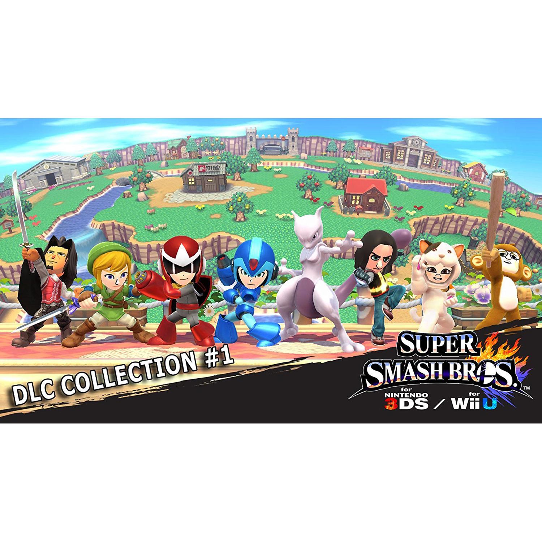 Super Smash Bros. DLC Collection #1, Nintendo, WIIU, [Digital Download], 0004549666073