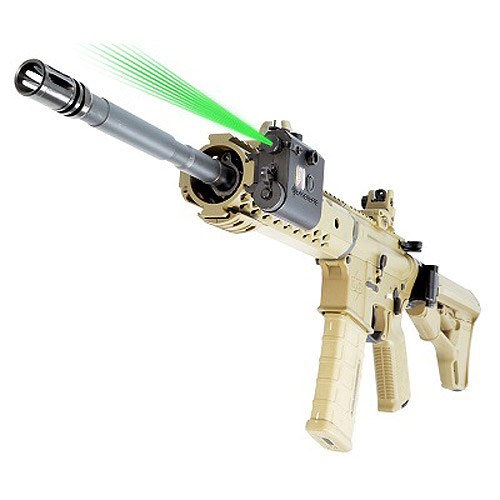 LaserLyte Center Mass Dual Lens with Green Laser, Black