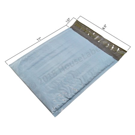 "25 Bags Size 2 8.5"" x 12"" Poly BUBBLE Mailers Padded Shipping Envelopes Plastic Self Sealing Mailing Bags 8.5x11 - Poly Plastic Bubble Mailers"