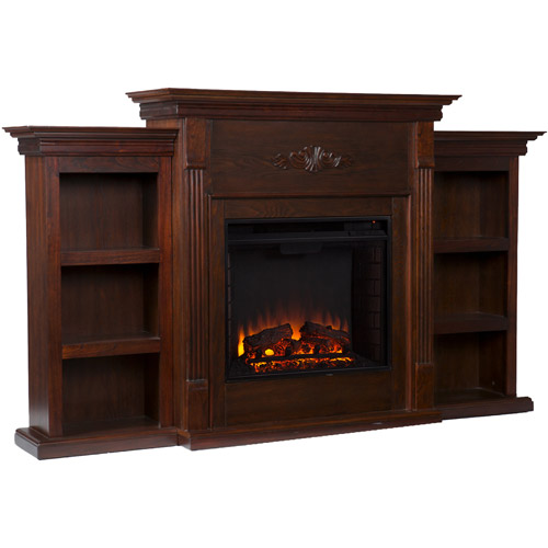NEW** Southern Enterprises Griffin Electric Fireplace with ...