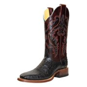 Cinch Western Boots Womens Caiman Square Stitching Black CFW592