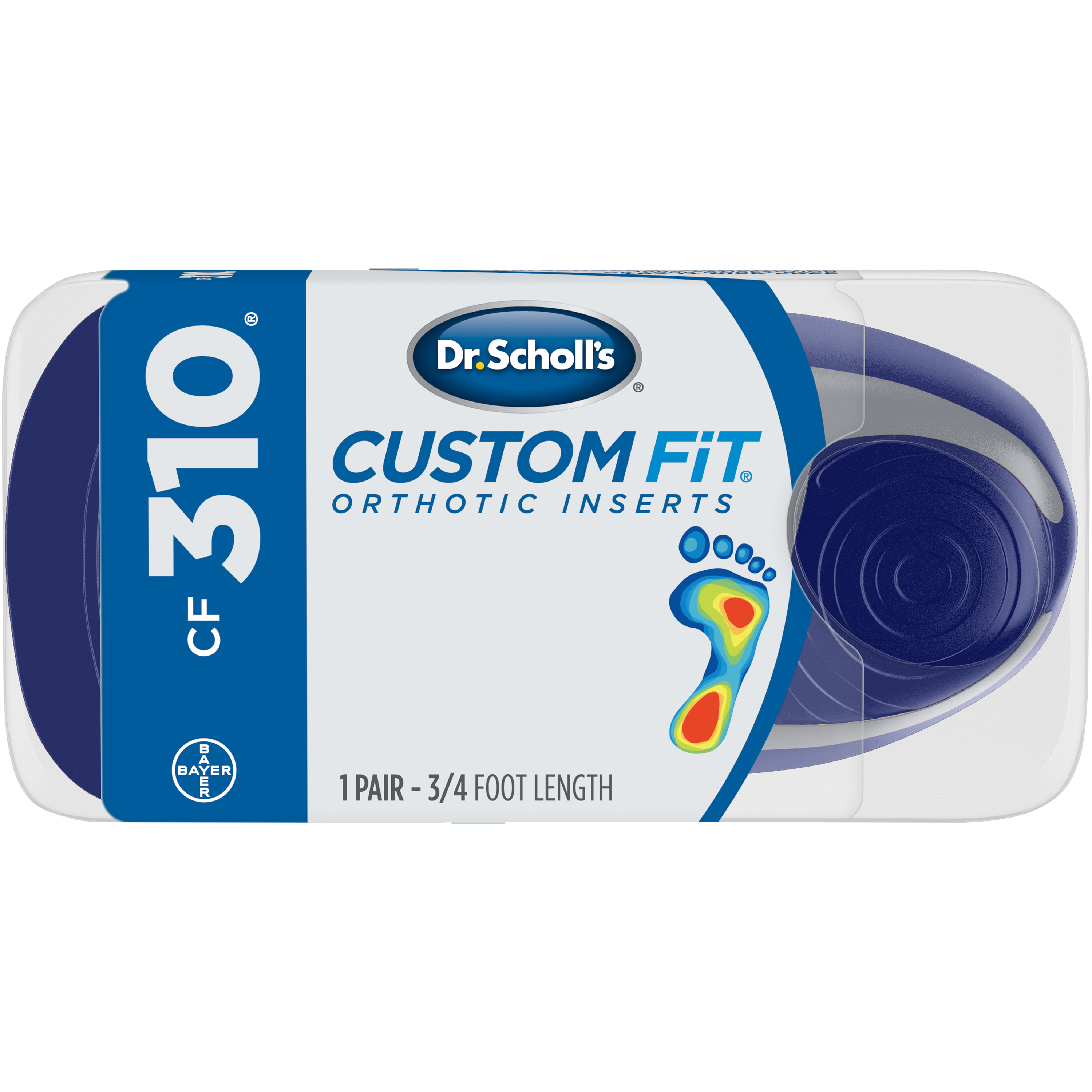 Dr. Scholl's® Custom Fit® Orthotic Inserts CF310, 1 Pair