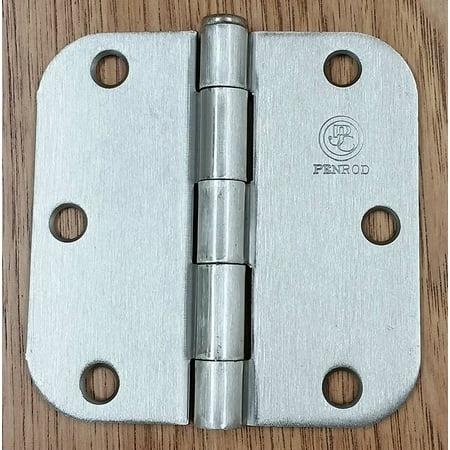 Light Interior Door Hinge - Penrod Interior Door Hinges - Satin Nickel - 3.5