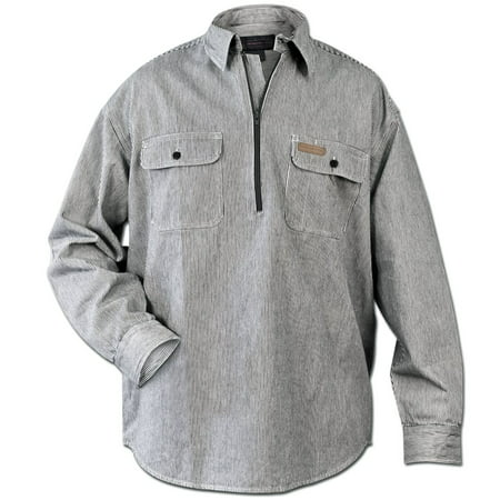 Hickory Work Shirt (Hickory Shirt Co. Long Sleeve 1/2 Zip Shirt - Tall)