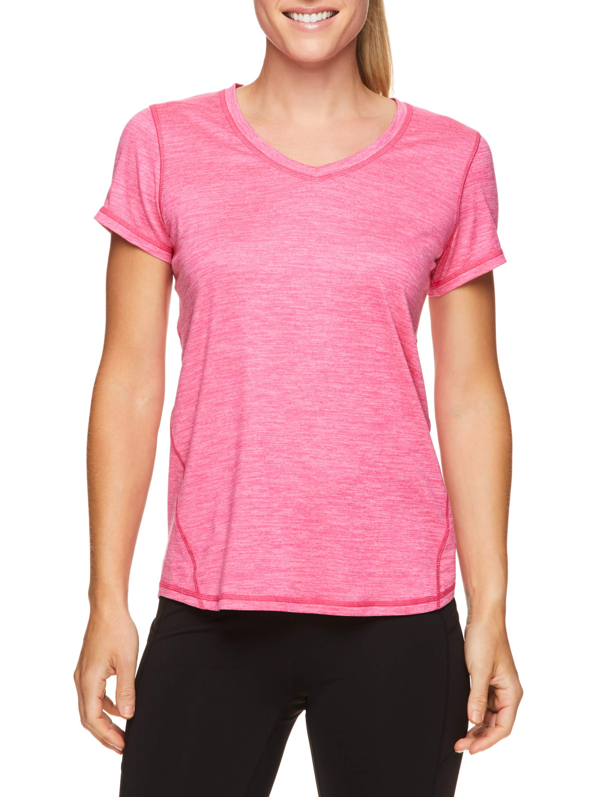 Penn - Penn Women's Active Emily Short Sleeve Top - Walmart.com