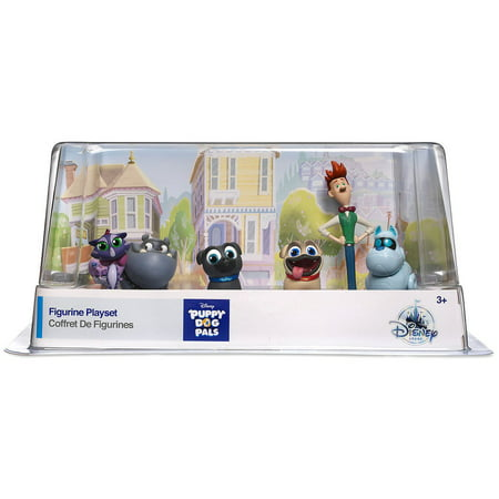 Disney Junior Puppy Dog Pals 6-Piece PVC Figure Playset